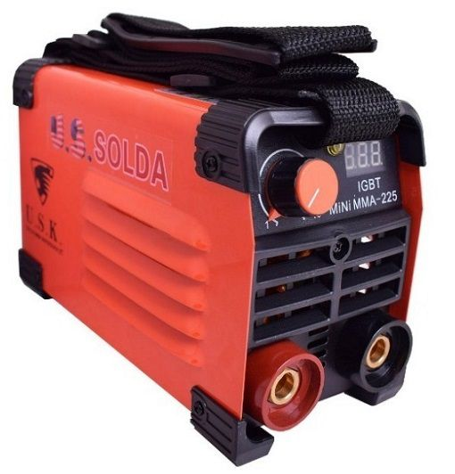 Máquina de Solda Inversora Mini MMA 225 USK 220V  - GENSETEC GERADORES
