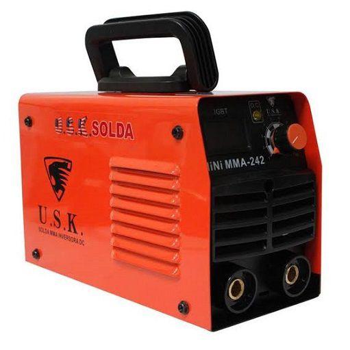 Máquina de Solda Inversora Mini MMA 242 USK 220V  - GENSETEC GERADORES