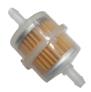 Mini Filtro de Combustível Transparente Para Gasolina 10 Peças  - GENSETEC GERADORES