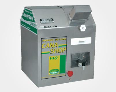 Moenda de Cana Maqtron Cana Shop 140 Rolo de Inox com Motor 220V  - GENSETEC GERADORES