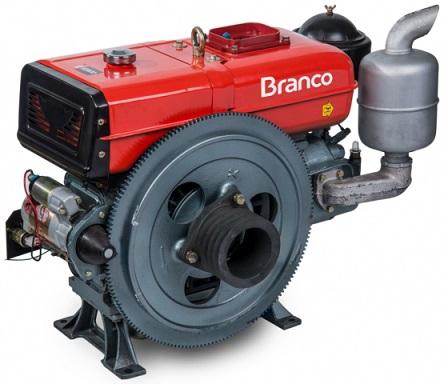 Motor Diesel Branco BDA 18.0TE Partida Elétrica  - GENSETEC GERADORES
