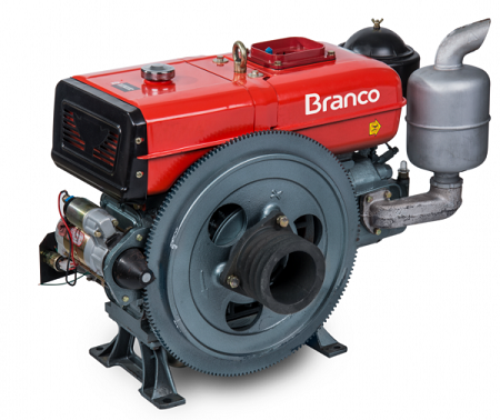 Motor Diesel Branco BDA 18.0T Tanque de Água  - GENSETEC GERADORES