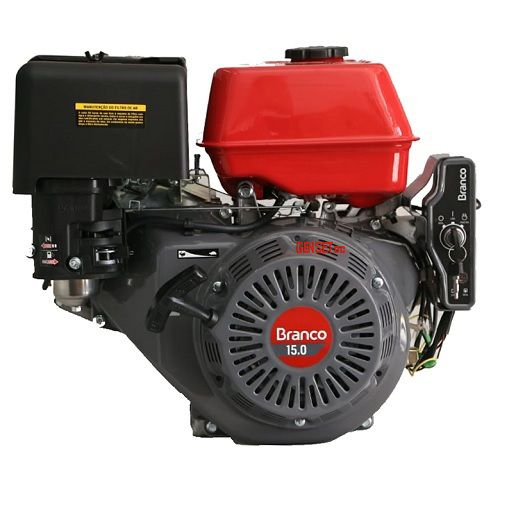 Motor Branco B4T 15HP Partida Elétrica  - GENSETEC GERADORES