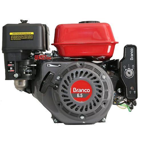 Motor Branco B4T 6.5 HP Partida Elétrica  - GENSETEC GERADORES