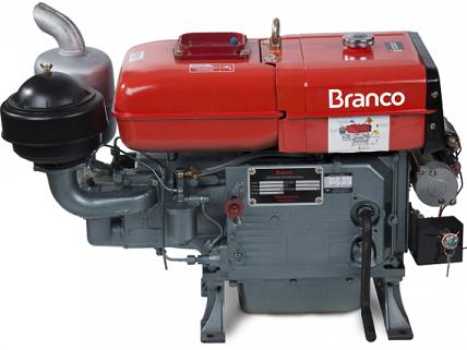 Motor Diesel Branco BDA 22.0TE Partida Elétrica  - GENSETEC GERADORES