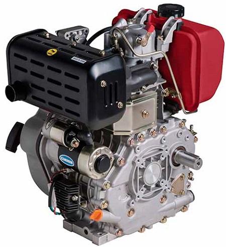 Motor Diesel Branco BD10 1800 RPM Partida Elétrica 10hp  - GENSETEC GERADORES