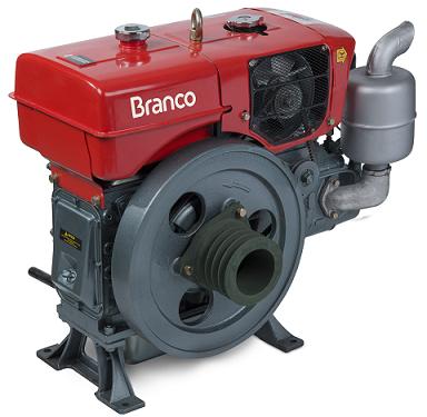 Motor Diesel Branco BDA 18.0RA Radiador  - GENSETEC GERADORES