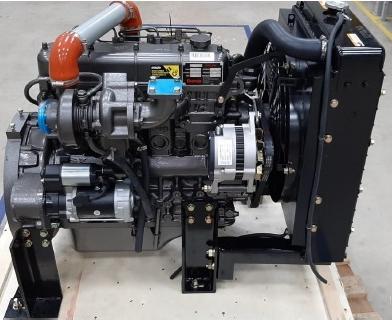 Motor Diesel Branco BD 52.0E Turbo 1800rpm 52hp  - GENSETEC GERADORES