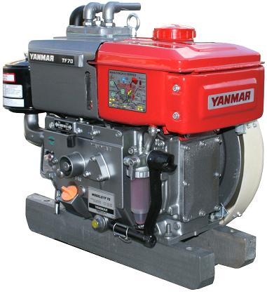 Motor Diesel Yanmar TF120H Tanque D