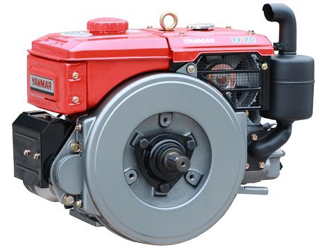 Motor Diesel Yanmar TF70R Radiador 7hp  - GENSETEC GERADORES