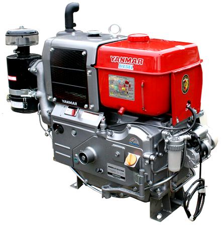 Motor Diesel Yanmar TS230RE Radiador Partida Elétrica 23hp  - GENSETEC GERADORES