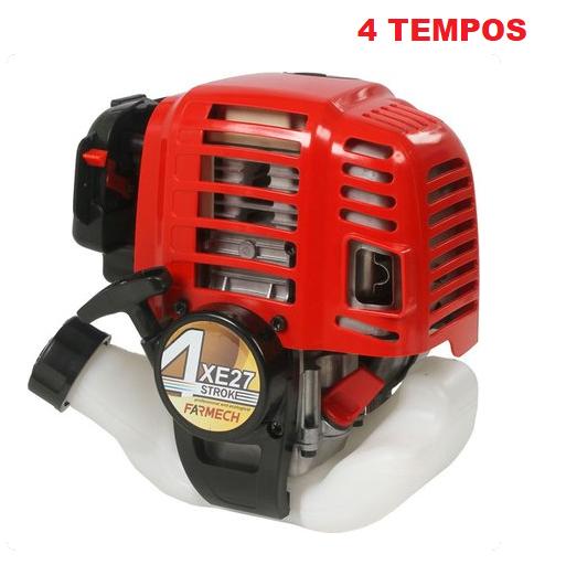 Motor Gasolina 26cc Roçadeira Bike 4 Tempos  - GENSETEC GERADORES