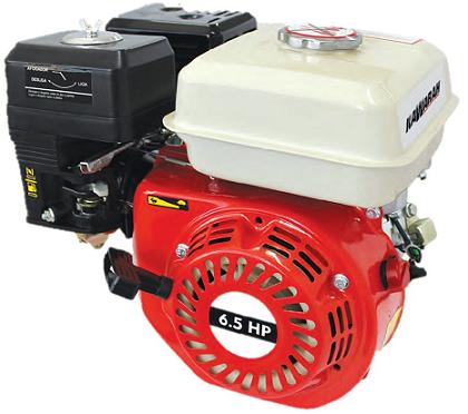 Motor Gasolina Kawarah 6.5 hp - Alerta de Óleo  - GENSETEC GERADORES