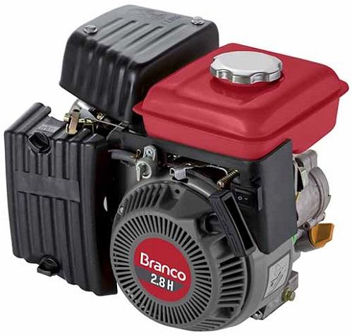 Motor Gasolina Branco B4T 2.8 hp  - GENSETEC GERADORES