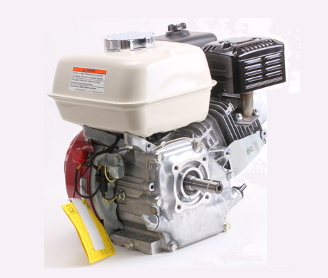 Motor Gasolina Branco B4T 5.5 hp - Alerta de Óleo  - GENSETEC GERADORES