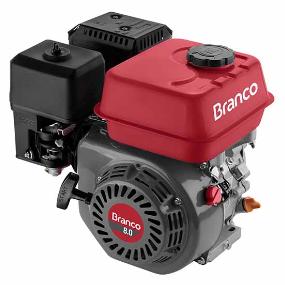 Motor Gasolina Branco B4T 8.5H 8.5hp  - GENSETEC GERADORES