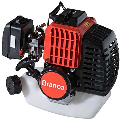 Motor Gasolina Branco BPR 52 2hp 2 Tempos  - GENSETEC GERADORES