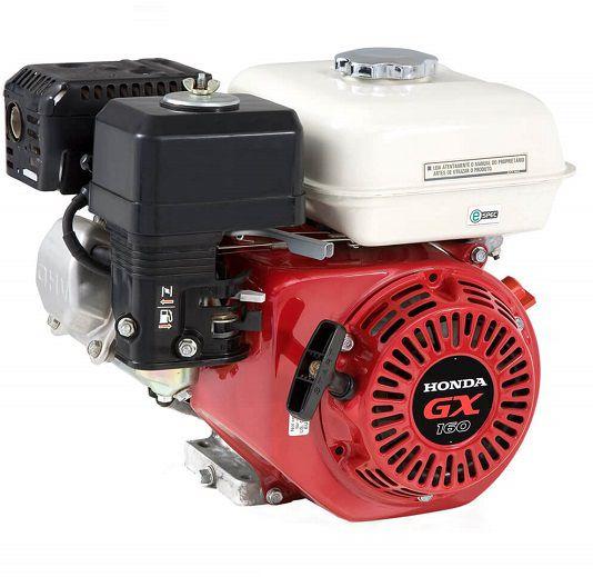 Motor Gasolina Honda GX160 QX 5.5 hp - Alerta de Óleo  - GENSETEC GERADORES