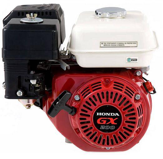 Motor Gasolina Honda GX200 QD 6.5 hp  - GENSETEC GERADORES