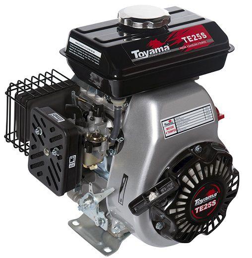 Motor Gasolina Toyama TE25S 2.5 hp  - GENSETEC GERADORES