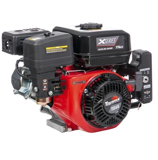 Motor Gasolina Toyama TE65EKX Partida Elétrica 6.5hp  - GENSETEC GERADORES