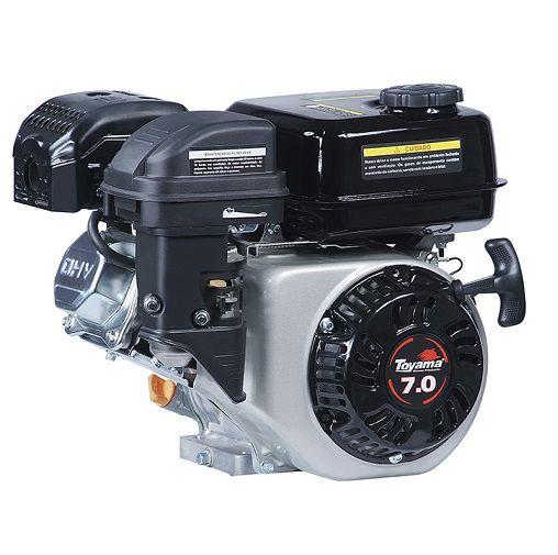 Motor Gasolina Toyama TE70-XP 7hp - Alerta de Òleo  - GENSETEC GERADORES