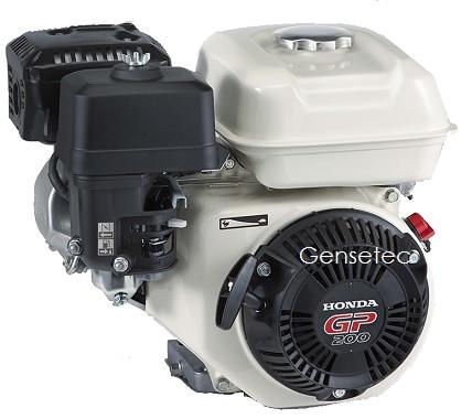 Motor Gasolina Honda GP200H QXB  6.5 hp - Alerta de Òleo  - GENSETEC GERADORES