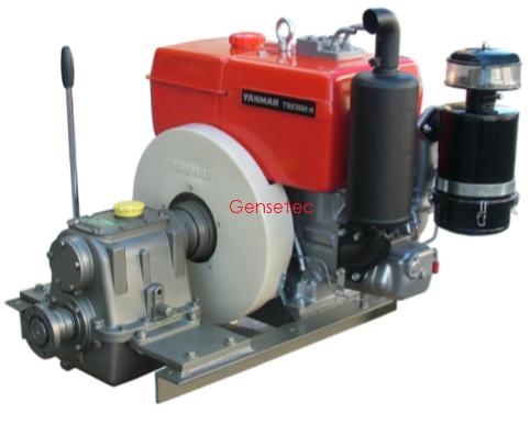 Motor Marítimo Yanmar com Reversor BM230E  - GENSETEC GERADORES