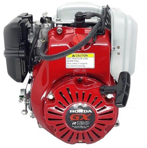 Motor Para Compactador de Solo Honda GXR120 KRA2 3.6hp - Eixo com Rosca  - GENSETEC GERADORES