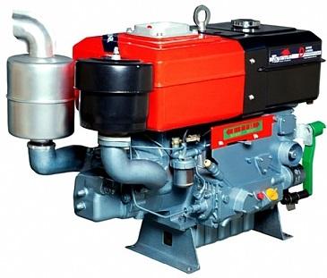 Motor Diesel Toyama TDW18D2 Partida Manivela 16,5hp  - GENSETEC GERADORES