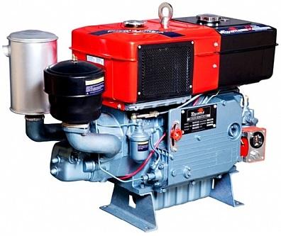 Motor Diesel Toyama TDW18DR2 Partida Manivela 16,5hp  - GENSETEC GERADORES