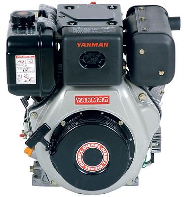 Motor Diesel Yanmar L100 Partida Manual 10hp  - GENSETEC GERADORES