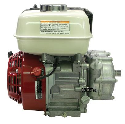 Motor Honda GX200RH-G com Embreagem Gensetec 6.5 hp   - GENSETEC GERADORES