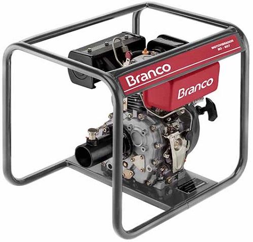 Motovibrador Diesel Branco BD-507  - GENSETEC GERADORES