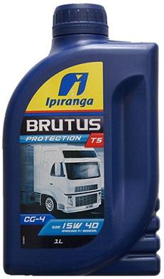 Óleo Ipiranga SAE 15W40 Brutus T5 1L  - GENSETEC GERADORES