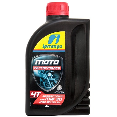 Óleo Ipiranga SAE 10W30 Moto Performance 1L  - GENSETEC GERADORES