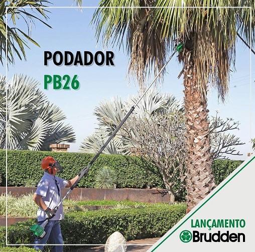 Podador de Galhos a Gasolina Brudden PB26  - GENSETEC GERADORES