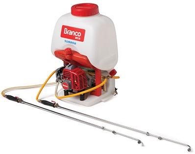 Pulverizador Gasolina Costal Branco BPC25  - GENSETEC GERADORES