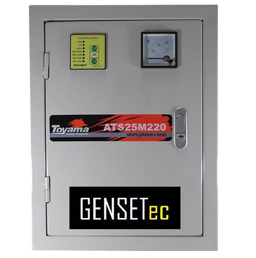 QTA para Gerador Toyama TDMG25SSE3 Trifásico 220V  - GENSETEC GERADORES