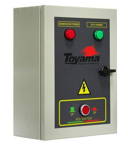 QTA Para Gerador Toyama Monofásico TDWG12000 220V  - GENSETEC GERADORES
