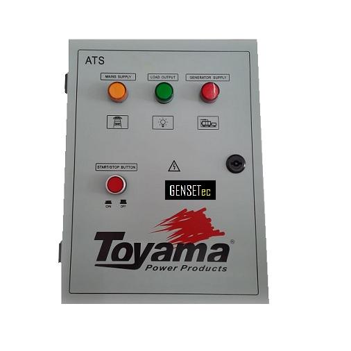 QTA Para Gerador Toyama TDWG12000 Monofásico 220V  - GENSETEC GERADORES