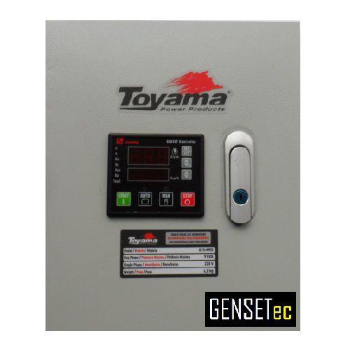 QTA Para Gerador Toyama TDG8500E3XP ou TDG8500SLE3XP Trifásico 380V  - GENSETEC GERADORES