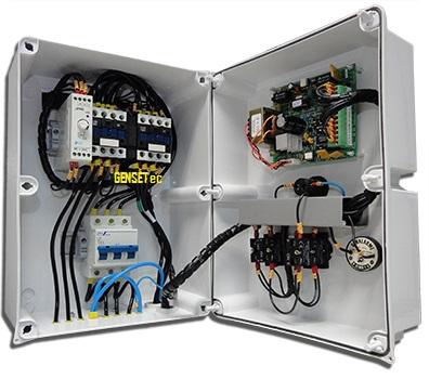 QTA Strazmaq para Gerador Trifásico até 20 kva - 80A  - GENSETEC GERADORES