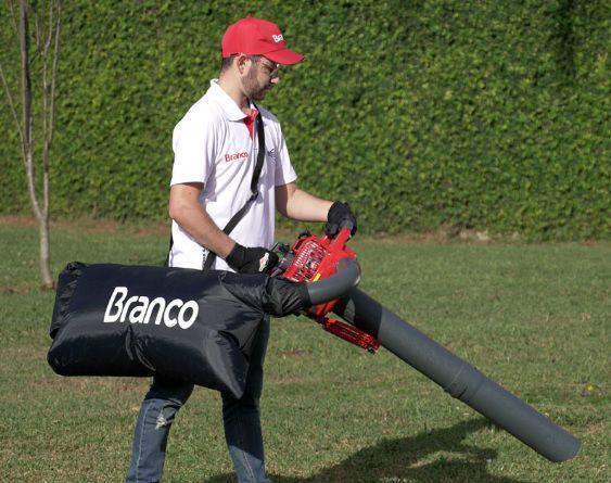 Soprador e Aspirador de Folhas a Gasolina Branco BSA470  - GENSETEC GERADORES