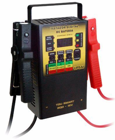 Testador de Baterias Digital Upsai Automático TDU 200  - GENSETEC GERADORES
