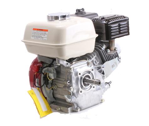 Motor Gasolina Branco B4T 5.5 hp  - GENSETEC GERADORES