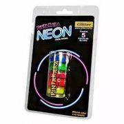 Tinta Fluorescente 5 Cores Cítricas - Neon Facial