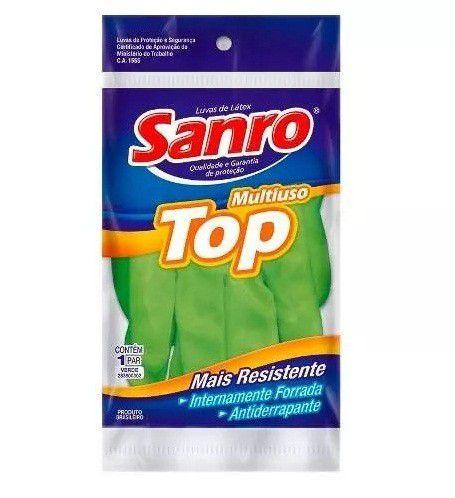 LUVA DE LATEX TOP SANRO