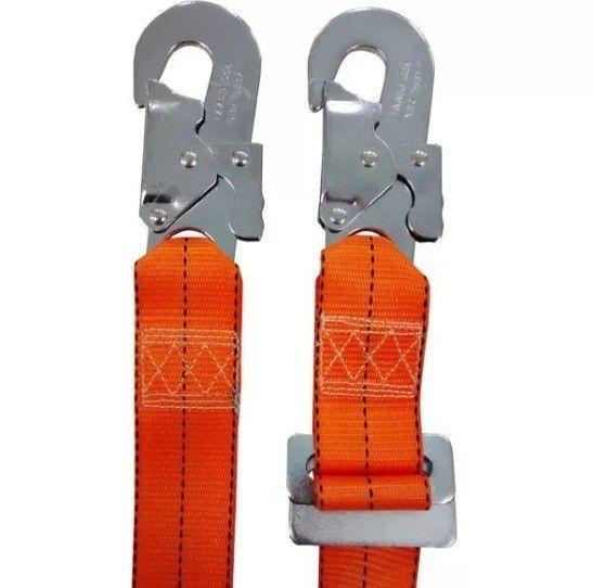 Cinto PQ3 + Talabarte Posicionamento Para Poste Eletricista