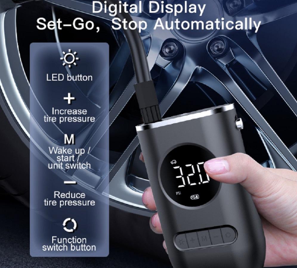 Mini Compressor Bomba Digital